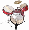 3PCE JUNIOR DRUM KIT