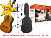 3/4 CLASSICAL GUITAR SUPER STUDENT PACK 2